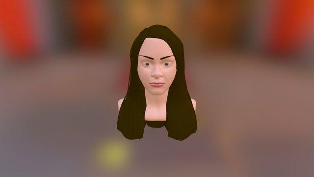 3Dimensional Barbie 3D Model