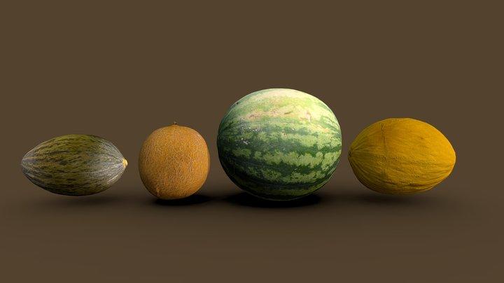 Melon pack 3D Model