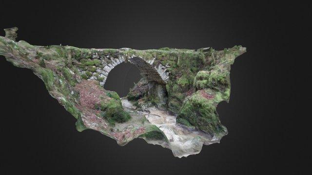 Pont de la Quinquenouille 3D Model