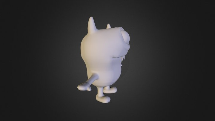 NastyMonsterOBJ 3D Model