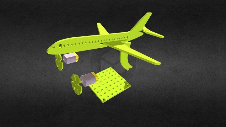 Ucak Yapım Modeli 3D Model