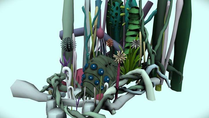 Ohmu in the Toxic jungle 3D Model