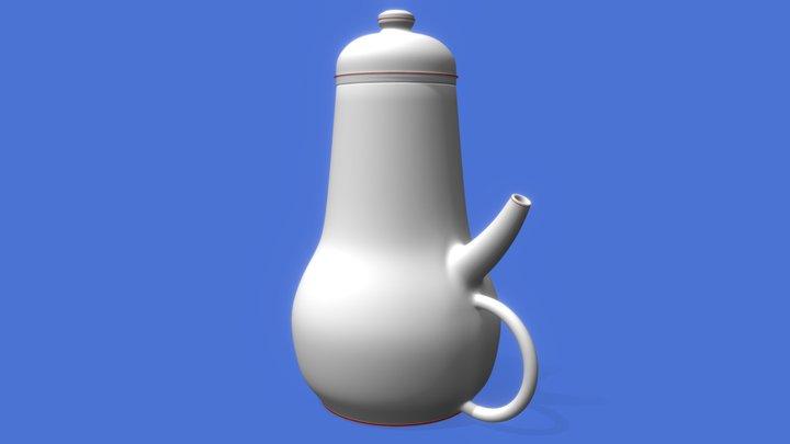 Impossible Teapot 3D Model