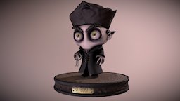 Count Orlok 3D Model