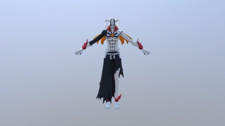 Fully Hollowfied Ichigo 3D Model