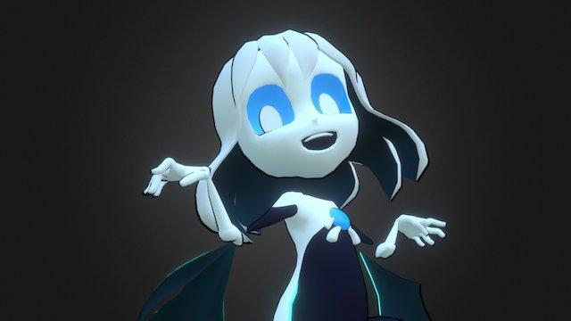 Hollow Race Ghost Girl 3D Model