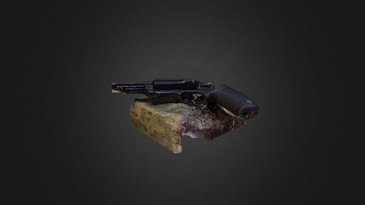 Gun Test 3D Model