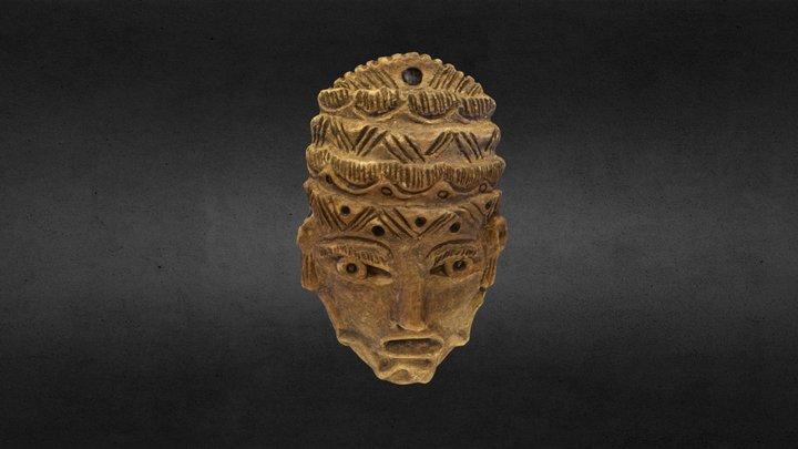 Máscara Zaribe 3D Model