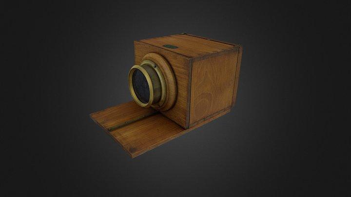 Daguerreotype camera (TM18868) 3D Model