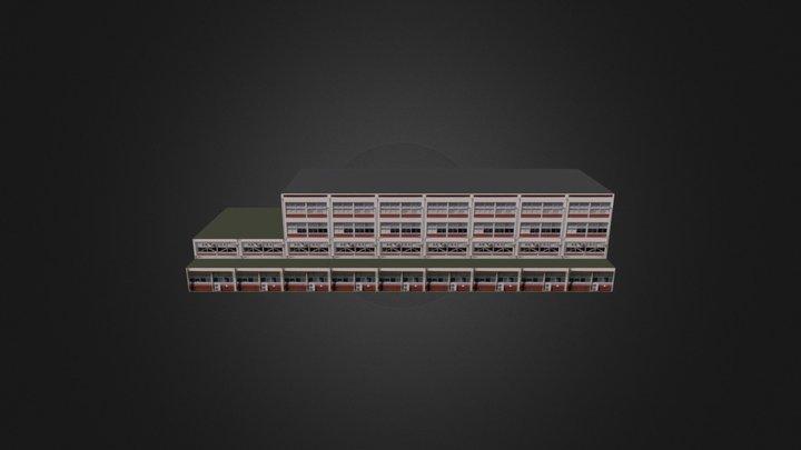 ハイブリット 3D Model