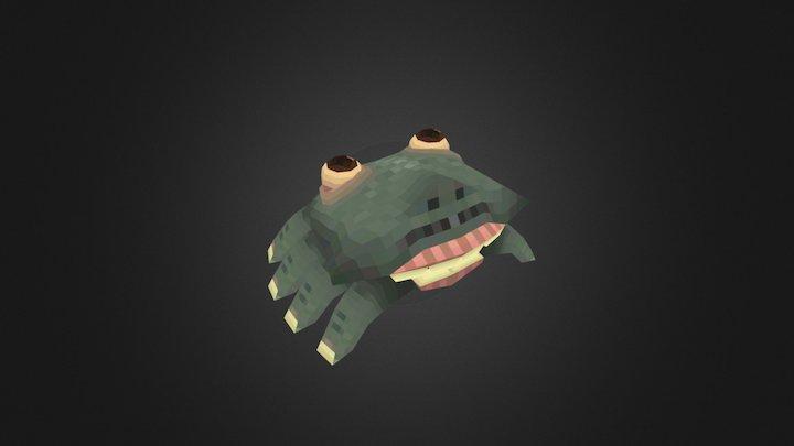 Finger Crab 3D Model