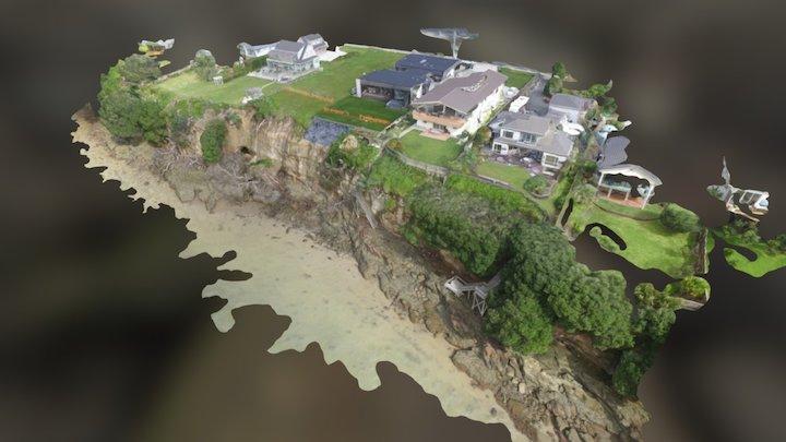Beachlands Coastline  Simplified 3d Mesh 3D Model