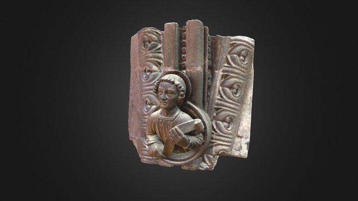 Evangelisten Johannes 3D Model