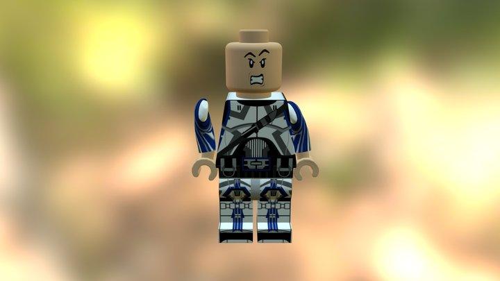 21367 Alejandro Gómez Textura Lego Sketchfab 3D Model
