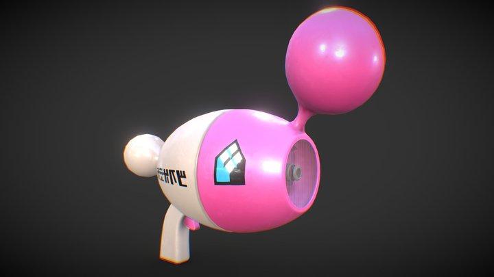 【Splatoon】Nova Blaster Neo 3D Model