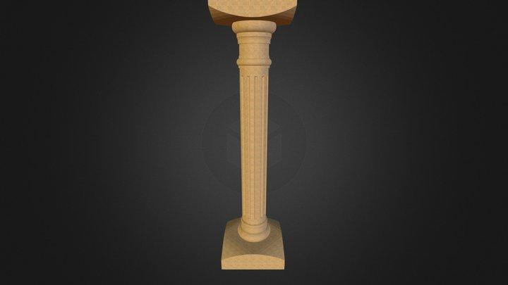 Colonne 3D Model