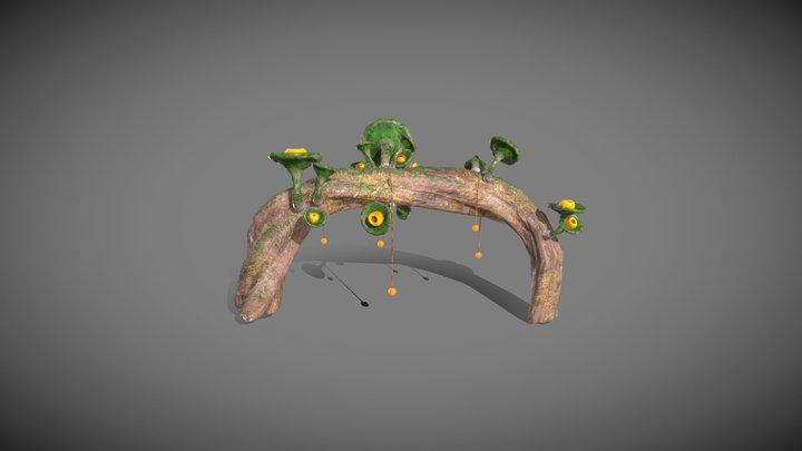 Projet Aaron - Light Plant 3D Model