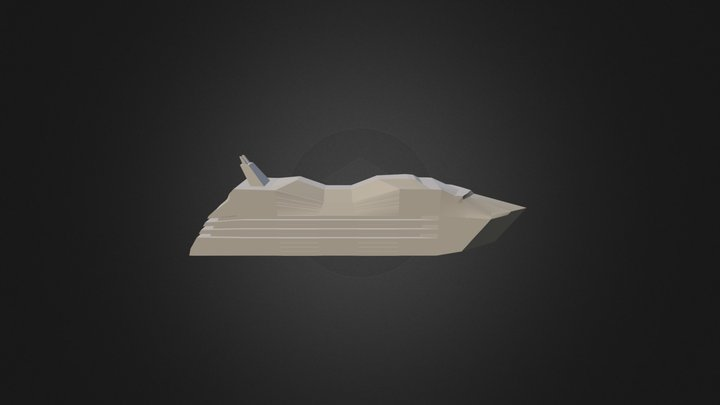 Laiva 3D Model