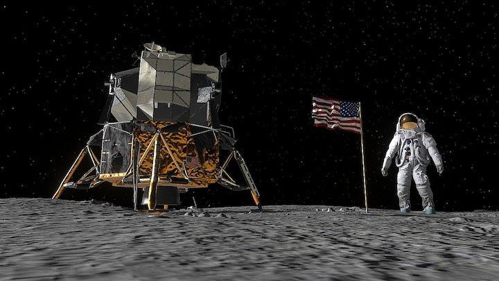Apollo 11 VR Experience 3D Model