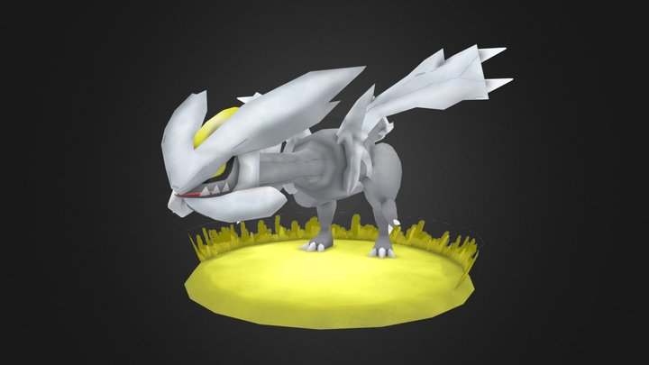 Pokemon FanArt - Kyurem 3D Model