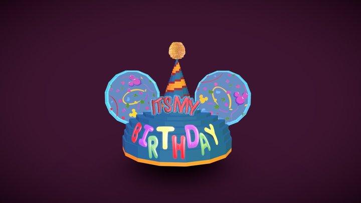 ''It's My Birthday'' Ears Hat