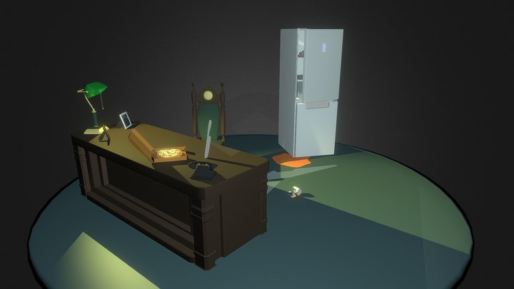 Night room 3D Model