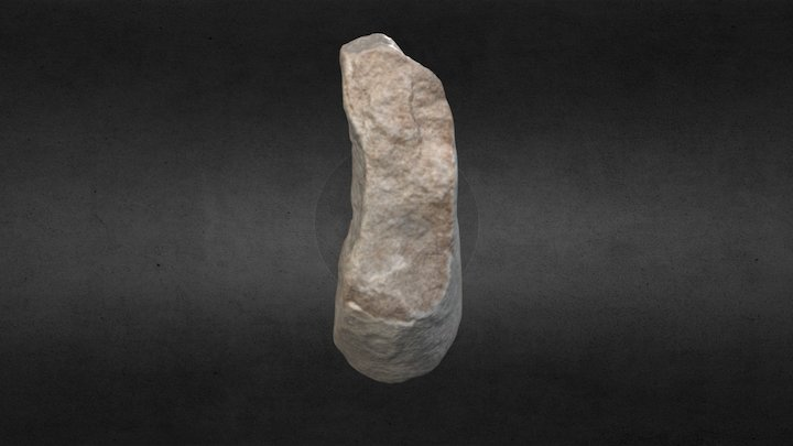 Barajas - Cylidrical Grinding Stone 3D Model