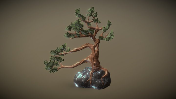 Tree Sculpture 3D Model