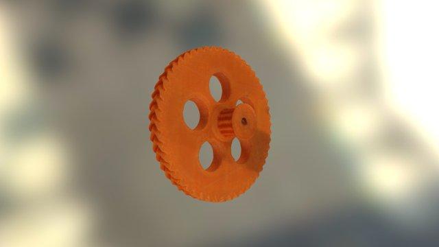 Engrenage ColorFabb XT 3D Model