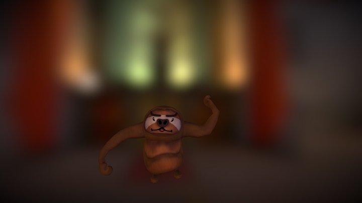 Slothing Around 3D Model
