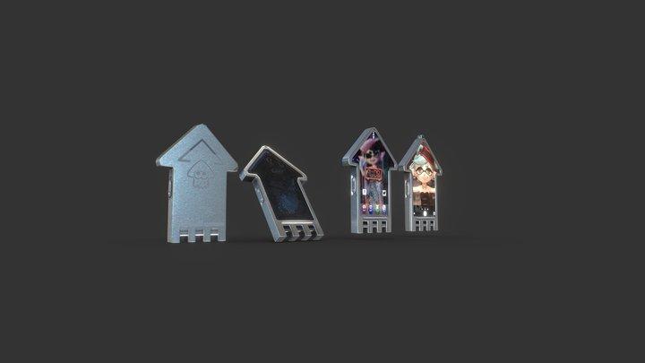 【Splatoon2】iKa Phone 2Plus 3D Model