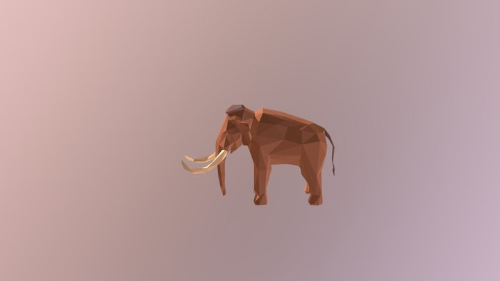 Mammoth - Prehistoric Pack 3D Model