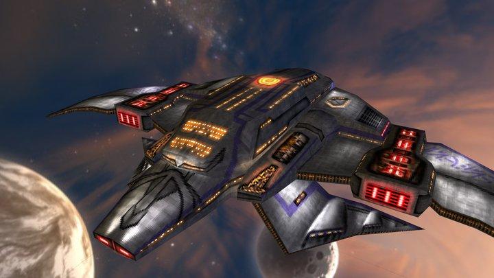 ISC Dreadnaught 3D Model