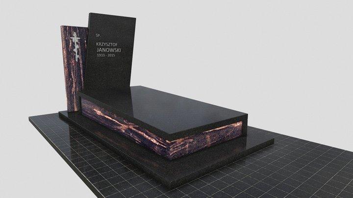 Nagrobek 233 3D Model