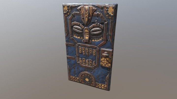 Reborn Cult Door 3D Model