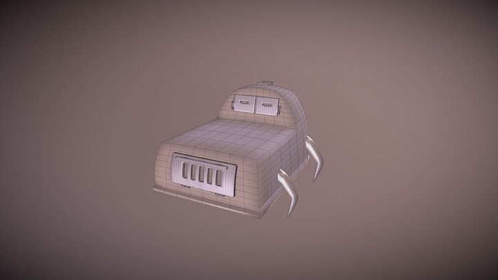 Oven (Insects) 3D Model