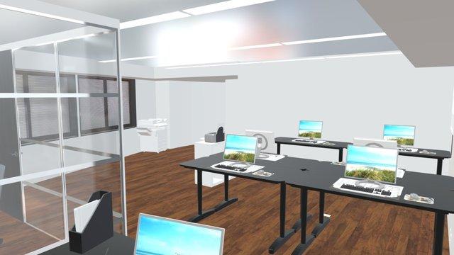 Edogawabashi Office 3D Model