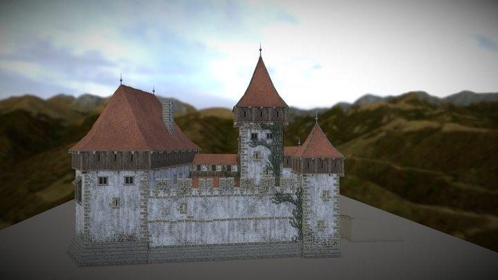 Buckstone Castle 3D Model