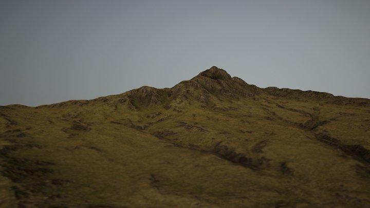 Iceland Landscape 3D Model
