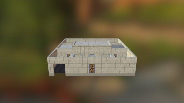 Gaspar House 3D Model