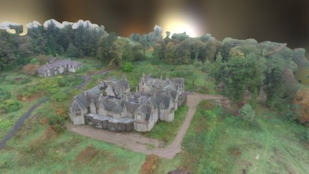 Cairndhu House 3D Model