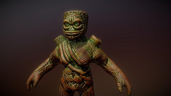 Skinroots 3D Model