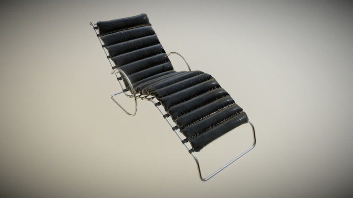 Furniture ArchViz Mr Chaise Lounge 3D Model