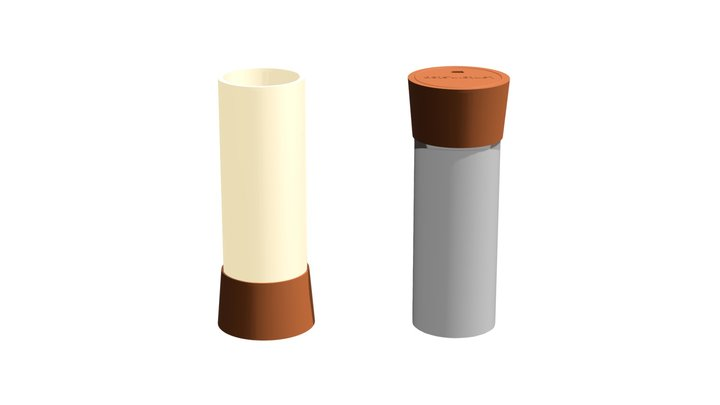 Lantern.step Cedar by .step 3D Model