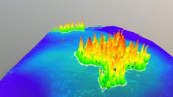 Rainbow Island 3D Model