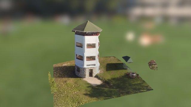 Vértessomló kilátó 3D Model