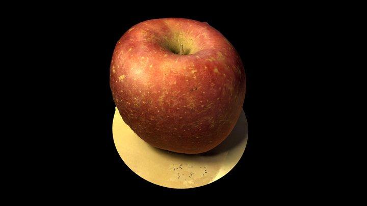 an apple 3D Model