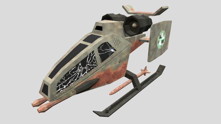 Skyhawk 3D Model