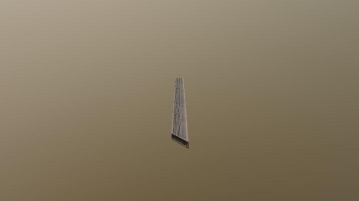 Board Railing 3 3D Model