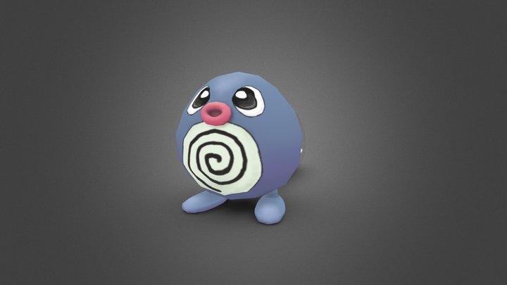 Pokemon FanArt - Poliwag 3D Model